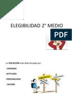 ELEGIBILIDAD 2° MEDIO