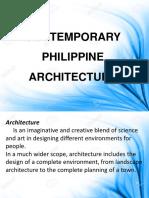 Contemporary Ph Architecture