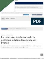 La Controvertida Historia de La Estatua Sin Cabeza de Franco