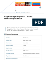 Leg Carnage_ Superset Quad & Hamstring Workout _ Muscle & Strength