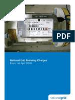 National Grid Metering Charges 2010