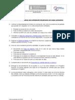 Contratación de personal con cargo a proyectos