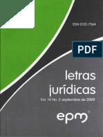 2009-09-09 - El Valor Jurídico Del Precedente