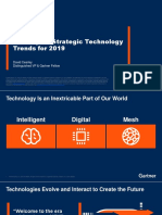 The Top 10 Strategic Technology Trends for 2019
