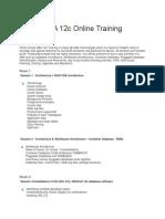 Oracle DBA 12c