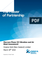 Appendix 30 Macraes Phase III Vibration and Air Blast Assessment