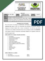 Acta Entrega Complementos JUNIO