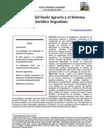 Acuña - Aapresid - La Salud Del Suelo Agrario y Los Sistemas Juridicos