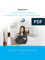 Assessor3 StandardisationSetup IB Spanish