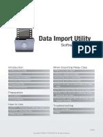 Data Import Utility Guide v2.3.1 ENG Rev0