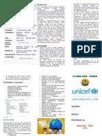 Trifoliado Unicef