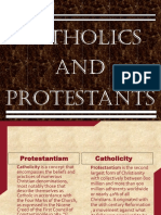 History Catholics and Protestants