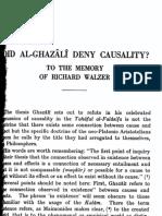 Defence of Algazali From Allegation of Ibn Arrushd