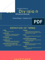 Cell Division Reviewer