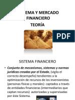 Teoría del mercado financiero