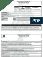 Reporte Proyecto Formativo - 1574291 - Fortalecimiento Tecnico-empres