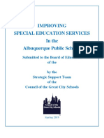 Albuquerque Special Education Report-FINAL
