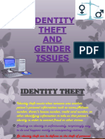 Informatics Practices Project- Identity Theft and Gender Issues