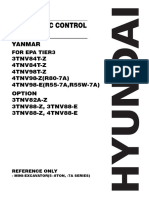 Yanmar electronic repair manual for Hyundai machines