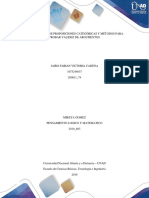 CLASIFICACIÓN DE PROPOSICIONES CATEGÓRICAS Y MÉTODOS PARA PROBAR VALIDEZ DE ARGUMENTOS