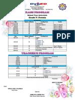 class program grade 5.docx