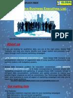Latin America Business ExecutivesList