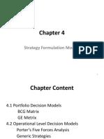 Chapter 4  Strategy Formulation Models.pptx