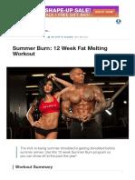 Summer Burn_ 12 Week Fat Melting Workout