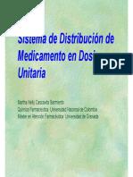 SISTEMA DE DISTRIBUCIÓN DE MEDICAMENTOS EN DOSIS UNITARIA
