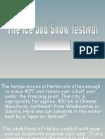 Snow & Ice Festival