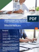 Cotizaciones Previsionales 2019