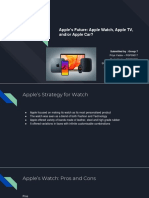 Group7_Apple's Future_ Apple Watch, Apple TV, And_or Apple Car