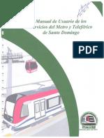 Nuevo manual de usuario de servicios del Metro y el Teleférico