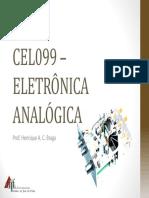 CEL099 – Cap.6_Transistor Bipolar de Junção