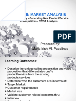 Lesson II Market Analysis 1