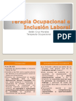 Terapia Ocupacional e Inclusión Laboral