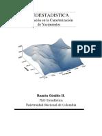 GEOESTADÍSTICA APLICACIÓN EN LA CARACTERIZACIÓN DE YACIMIENTOS.pdf