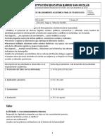 ACTIVIDADES DE MEJORAMIENTO SOCIALES COMPLETO 6° P2-2019