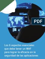 Los 6 aspectos esenciales que debe de tener un WAF