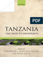 (Africa policies for prosperity) Adam, Christopher_ Collier, Paul_ Ndulu, B. J - Tanzania _ the path to prosperity-Oxford University Press (2017).pdf