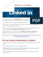 Marketing No Linkedin
