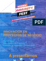 Innovacion en La Gestion de Proyectos - Manuel Rojas
