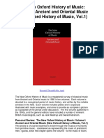 New Oxford History of Music