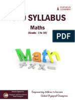ISFO Syllabus Maths