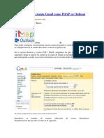 Configurar Una Cuenta Gmail Como IMAP en Outlook