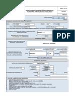 Formulario Pta - Llenar