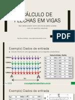 E Book Cálculo e Estudo de Flechas Em Vigas de Concreto