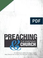 Preaching & the Emergent Church