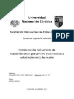 Tesis Optimizacion Del Servicio de Mantenimiento (Final)