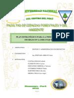 Plan Estrategico en La Industria de Muebles en Lambayeque 2019